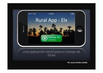 Rural App - Elx