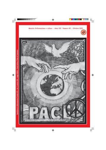 Mensile d'informazione e cultura - Anno VII Numero 65 - Ottobre 2001