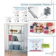 Archivio compattabile Shelves