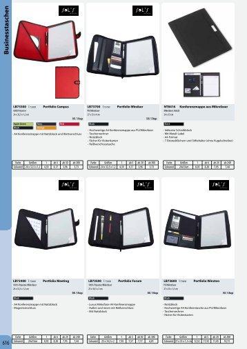 Businesstaschen - Condi-Werbung