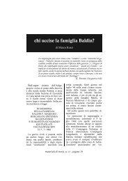 chi uccise la famiglia Baldin? - Centro Studi Ettore Luccini