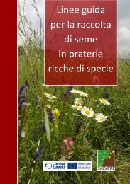 + Linee guida per la raccolta di seme in praterie ricche di specie (file ...
