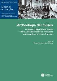 Archeologia del museo - Istituto per i Beni Artistici, Culturali e ...
