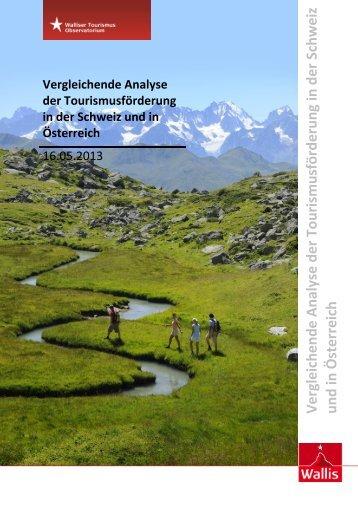 Vergleichende Analyse der Tourismusförderung in der Schweiz und in Österreich