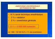 ALR en France - Institut d'Anesthésie-Réanimation de Paris