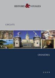 CROISIèRES CIRCUITS - Histoire & Voyages