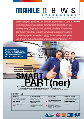 Aftermarket news 3/2012 (français)