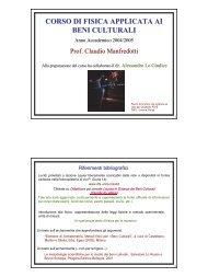 Lezione 1 - Fisica Sperimentale