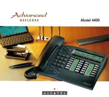 Télécharger la notice poste ALCATEL advanced 4035 - Sesc