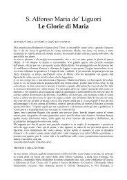santalfonso le glorie di maria.pdf - Parrocchia San Michele ...