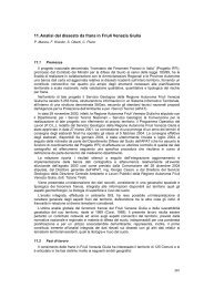 11. Analisi del dissesto da frana in Friuli Venezia Giulia - ispra