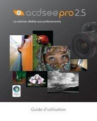ACDSee Pro 2.5 Guide d'utilisation