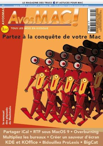 AVM n° 38 - mars 2004 - Bibliothèque - Free