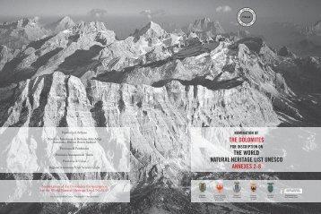 DOLOMITES - Annexes 2-8 - Provincia di Udine