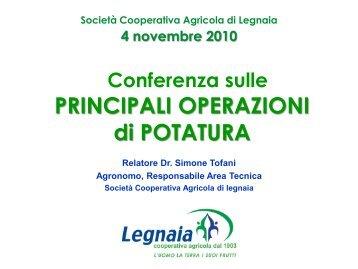 clikka e scarica le slides di presentazione - Cooperativa Agricola di ...