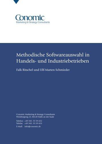 Methodische Softwareauswahl in - Conomic Marketing & Strategy ...