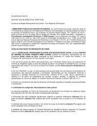 Ação de execução de obrigação de fazer - Ministério Público do ...