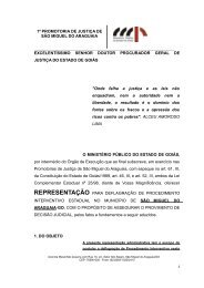 excelentíssimo senhor doutor juiz de direito da comarca de são ...