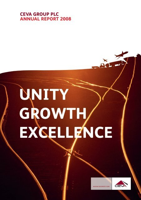 UNITY GROWTH EXCELLENCE - CEVA Logistics