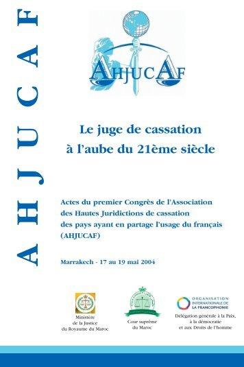 Télécharger l'ouvrage au format PDF - AHJUCAF