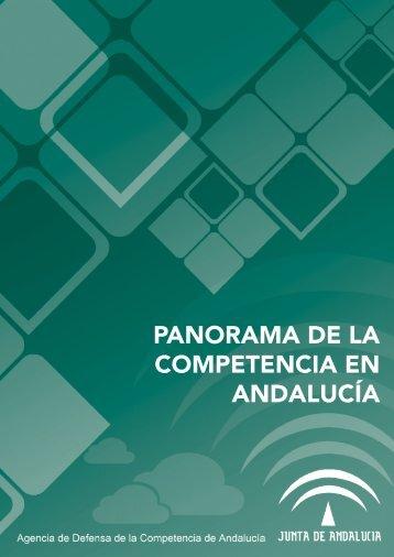 PANORAMA DE LA COMPETENCIA EN ANDALUCÍA - Junta de ...
