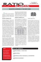decretos supremos 1º de mayo 2009 - Cayo Salinas & Asociados
