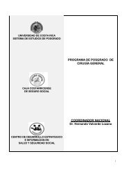 Programa de Posgrado de Cirugía General - CENDEISSS