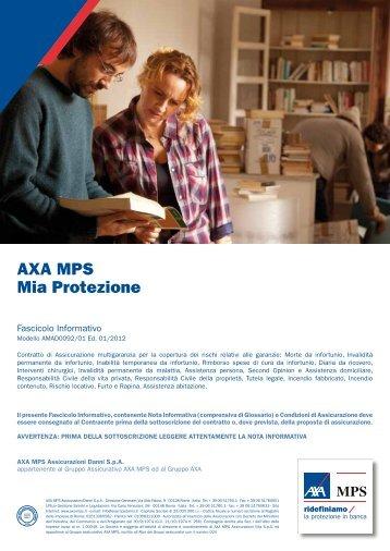 Fascicolo informativo - AXA MPS