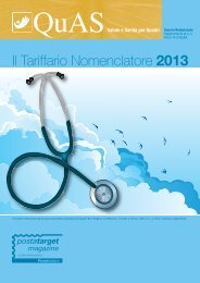 Tariffario Nomenclatore 2013 - Quas