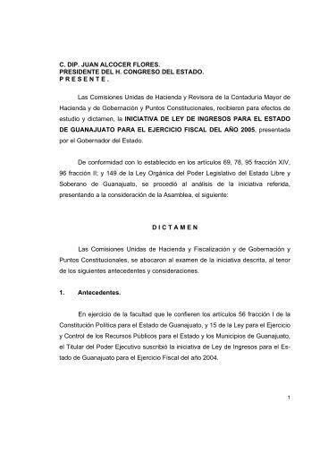 Ley de Ingresos para el Estado de Guanajuato - Congreso del ...