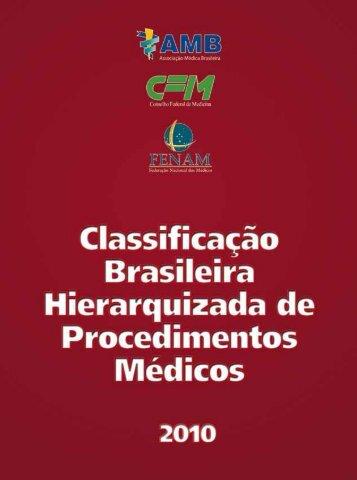 Arquivo CBHPM 2010 em PDF - Associação Médica Brasileira