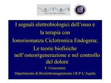 Un segnale è osteogenetico quando le sue caratteristiche di ... - MFIsrl