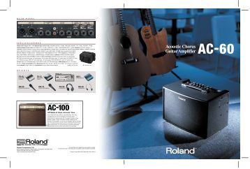 AC-60 Brochure - Roland
