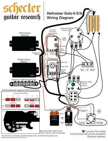 hellraiser solo 6 wiring diagram schecter guitars soloist wiring diagram on soloist images free download wiring prs se wiring diagram at n-0.co