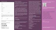 Brochure corso perfezionamento implantologia Federico II