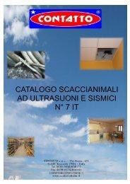 Catalogo scacciatopi 7 IT - CONTATTO snc