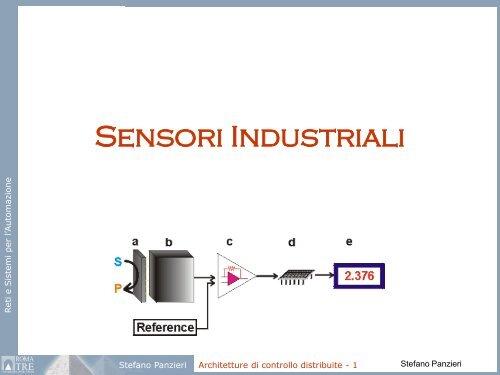 13 Sensori Industriali Pdf Dipartimento Di Informatica E