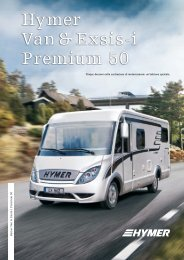Hymer Van & Exsis-i Premium 50
