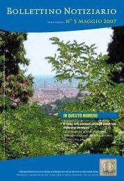 Maggio 2007 - Ordine dei Medici di Bologna