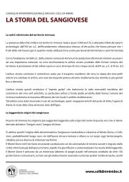 LA STORIA DEL SANGIOVESE - DOC COLLI DI RIMINI