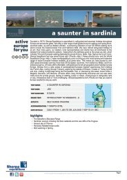 a saunter in sardinia - Sherpa Expeditions