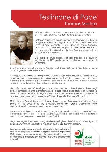Thomas Merton - Caritas Roma