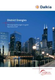 District Energies - Dalkia