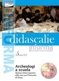 Archeologi a scuola - Liceo Classico Giovanni Prati
