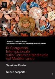 Nuove scoperte - Archeologia Medievale Venezia