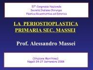Massei convegno Napoli 2008 PARTE 1 - Labiopalatoschisi