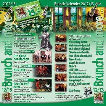 Brunchkalender 2012/2013 PDF-Download