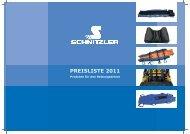 PREISLISTE 2011 - Schnitzler Rettungsprodukte GmbH & Co. KG