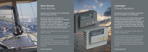 Laderegler Charge Regulators Solar Module Solar ... - Schoenau AG