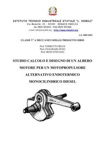 PROGETTO SIRIO - IIS L.Nobili